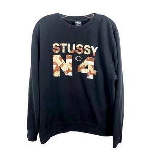 STUSSY No 4 Desert Camo Vintage Sweatshirt